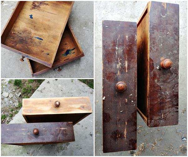 odnawianie drewnianego stolu - STARY STÓŁ DREWNIANY - RATUJEMY MEBEL