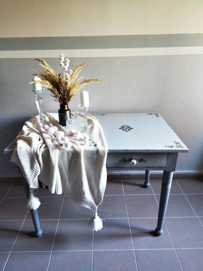renowacja stołu z drewna 19 768x1024 - STARY STÓŁ DREWNIANY - RATUJEMY MEBEL
