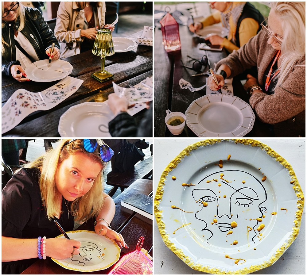 malowanie porcelany maria rosenthal - LA DOLCE VITA - MEETBLOGIN 2020